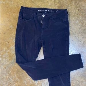 American Eagle Navy Jegging